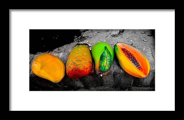 Fruit Framed Print featuring the photograph Cabo Fruit Art by Craig Incardone