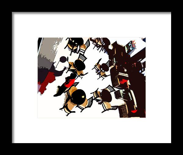 Still Life Framed Print featuring the photograph Cafe Coffee Day by Padamvir Singh