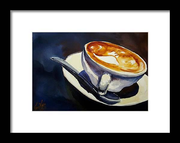 Espresso Framed Print featuring the photograph Cafe Noisette by James Nyika