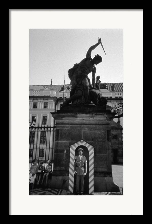 Travel Framed Print featuring the photograph Cain Slaying Able by Allan McConnell
