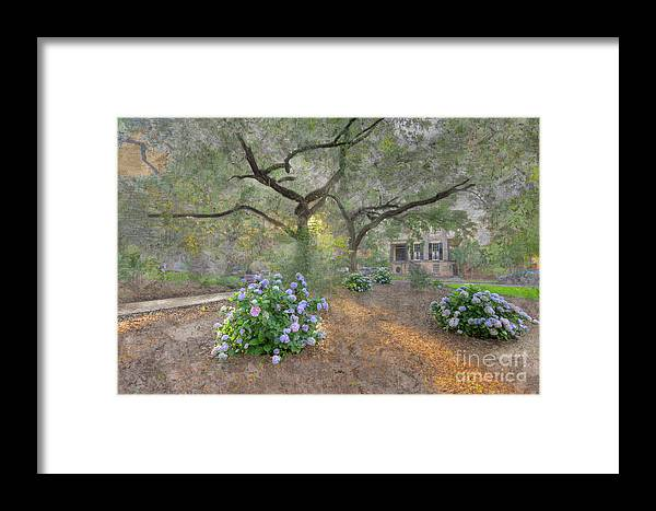 Hdr Framed Print featuring the digital art Calhoun Square by Larry Braun