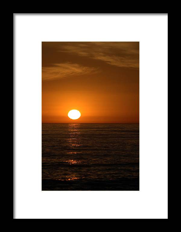 Landscape Framed Print featuring the photograph California Dreaming by Brad Scott