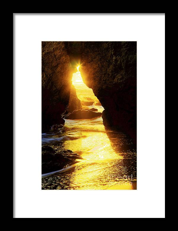 Beaches Framed Print featuring the photograph California's Gold by Greg Clure