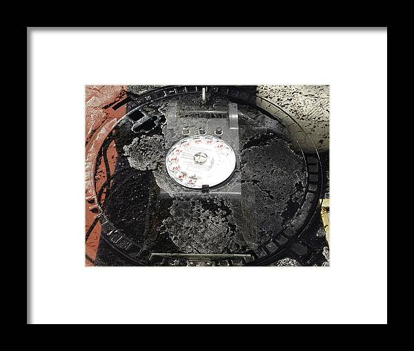 Artwork Framed Print featuring the photograph Call by Radulescu Adriana Lucia