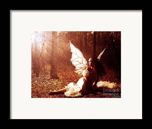 Fairy Framed Print featuring the digital art Called Home by Jennifer Gelinas