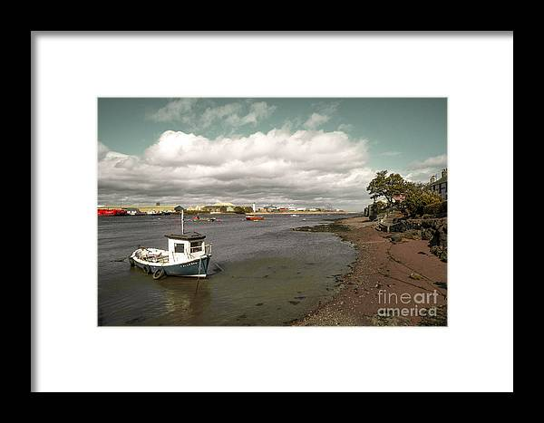 Ferryden Framed Print featuring the photograph Callerou by Rob Hawkins