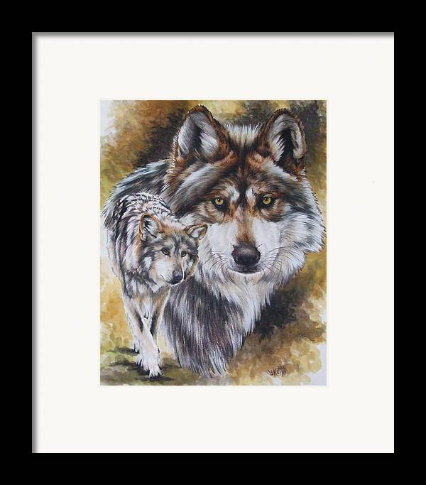 Wildlife Framed Print featuring the mixed media Callidity by Barbara Keith