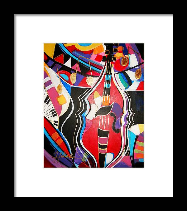 Music Framed Print featuring the painting Calling Me Home by Gina Hulse