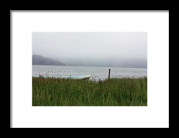 Maine Framed Print featuring the photograph Calm by Becca Brann