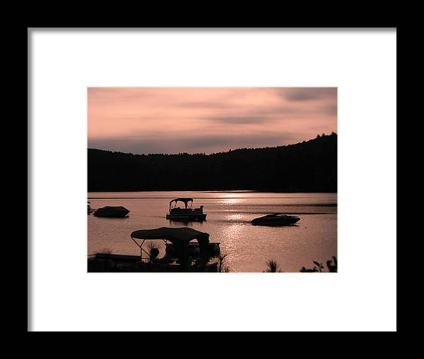 Photography Holderness Nh Photographs Framed Print featuring the photograph Calm Morning by Michael Mooney