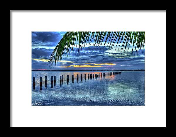 Caloosahatchee Framed Print featuring the photograph Caloosahatchee Evening by John McCuen