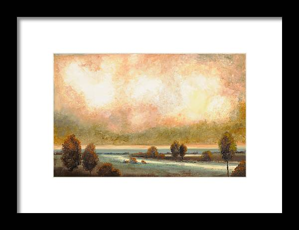 Pond Framed Print featuring the painting Calor Bianco by Guido Borelli