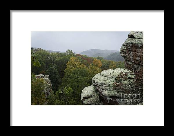 Camel Rock Framed Print featuring the photograph Camel Rock by Andrea Silies