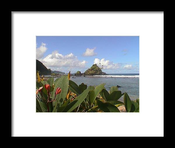 Camelback Island Framed Print featuring the photograph Camelback Island by Jay Givens