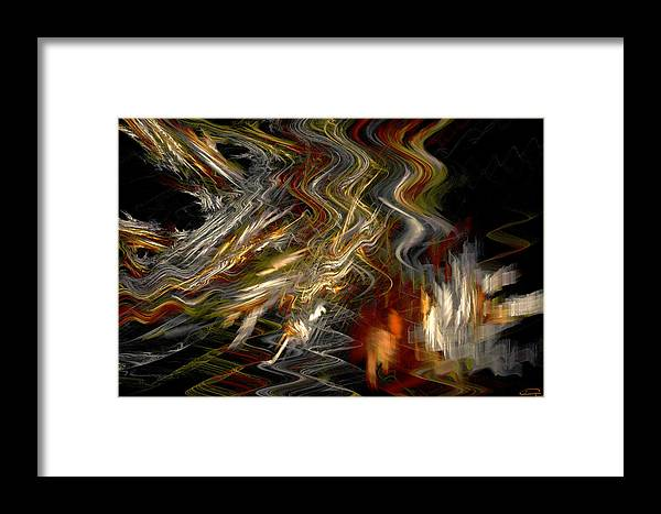 Camelot Framed Print featuring the painting Camelot by Emma Alvarez