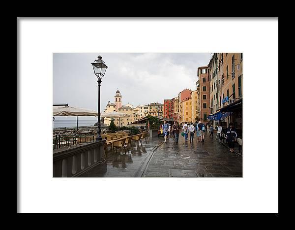 Italy Framed Print featuring the photograph Camogli 3 by Luigi Barbano BARBANO LLC