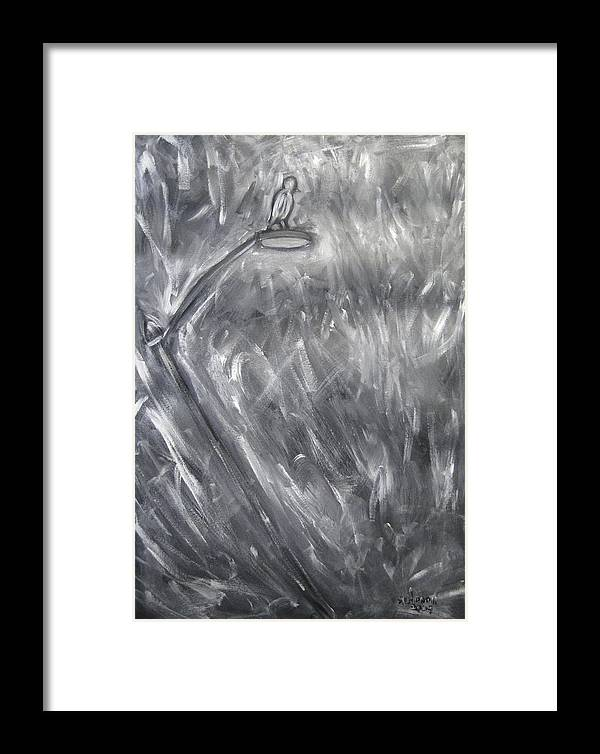 Animal Framed Print featuring the painting Camouflage by Albert Almondia