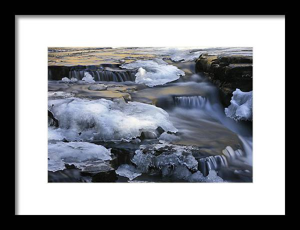Waterfalls Framed Print featuring the photograph Campbell Waterfalls West Virginia by Jim Dohms