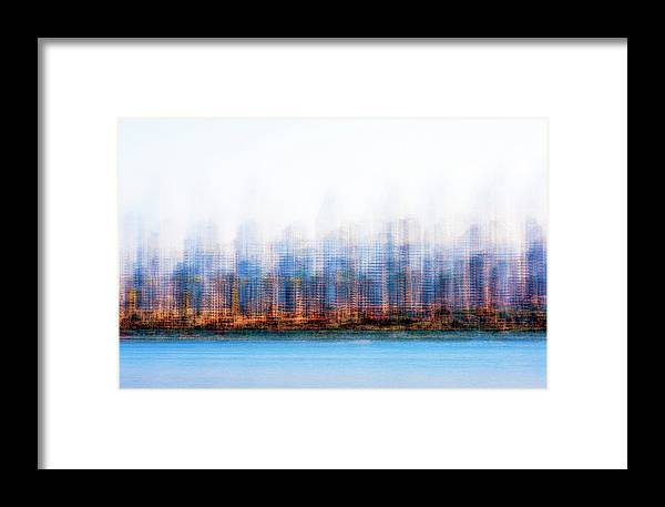 Skyline Framed Print featuring the photograph Can You Name The Skyline by Joseph S Giacalone