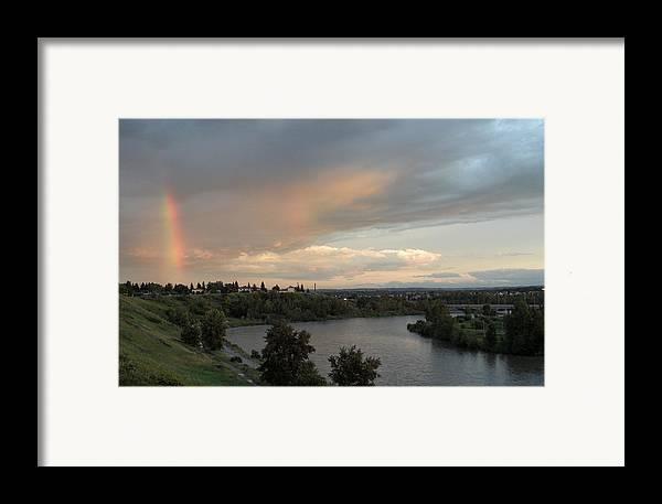 Calgary Framed Print featuring the photograph Canadian Beauty by Mark Lehar