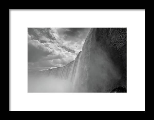 Niagara Falls Framed Print featuring the photograph Canadian Niagara Falls by Priyanka Ravi