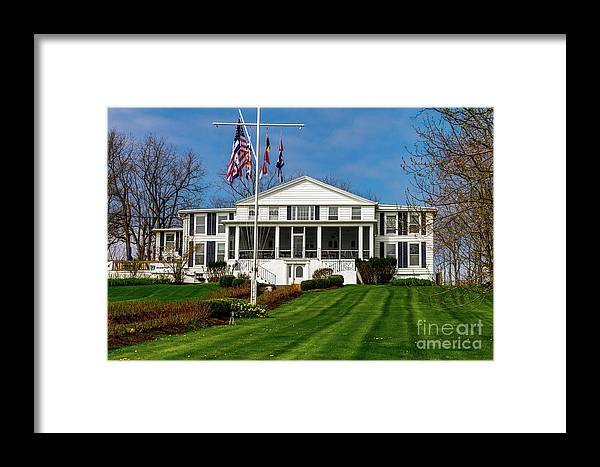 Canandaigua Yacht Club Framed Print featuring the photograph Canandaigua Yacht Club by William Norton
