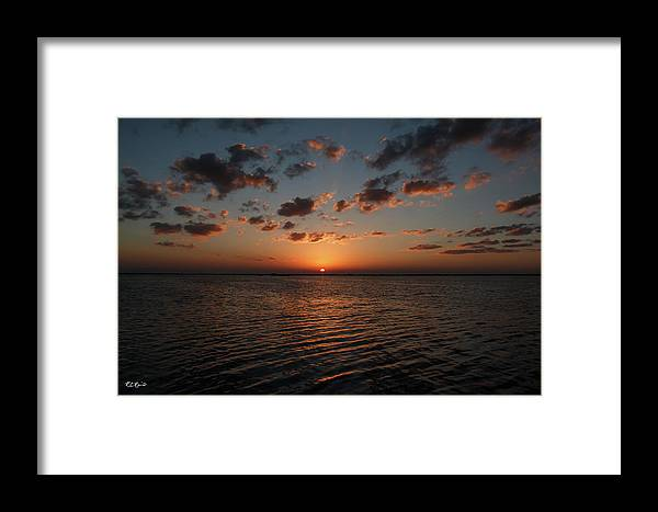 Cancun Framed Print featuring the photograph Cancun Mexico - Sunset Over Cancun by Ronald Reid