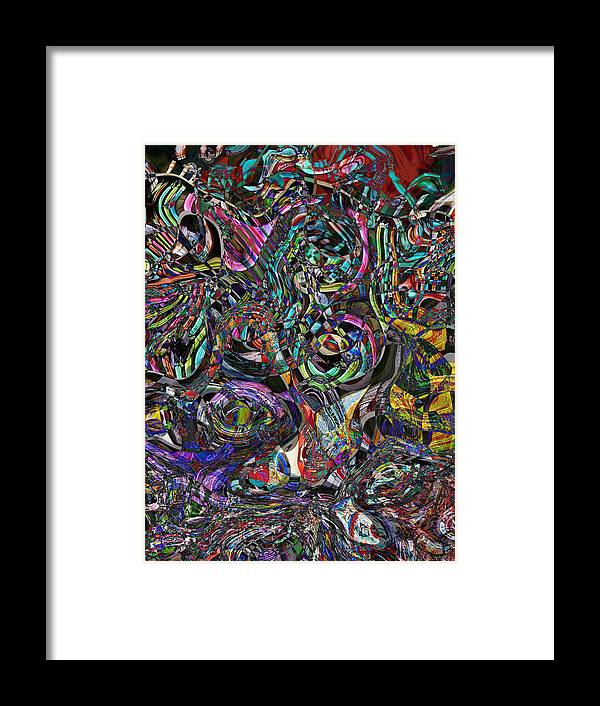 Candy Framed Print featuring the photograph Candy Abstract by Lori Seaman