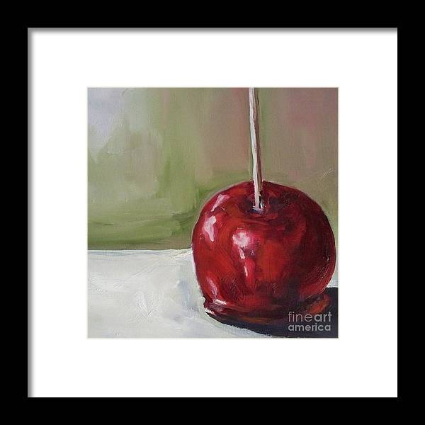 Candy Framed Print featuring the painting Candy Apple by Kristine Kainer