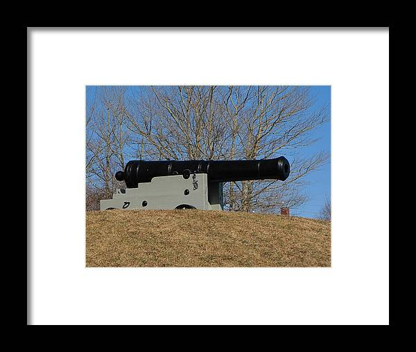 Canon Framed Print featuring the photograph Canon by Melissa Parks