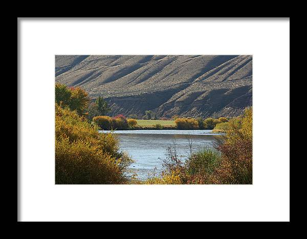 River Framed Print featuring the photograph Canyon River by JoJo Photography
