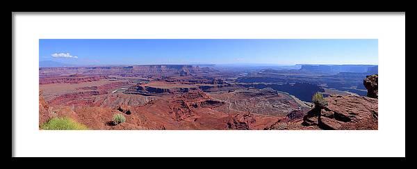 Canyonlands National Park Framed Print featuring the photograph Canyonlands National Park No. 1 by John R Bryant