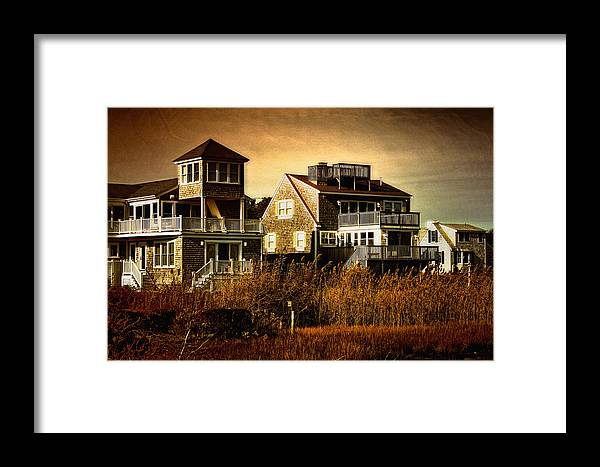 Cape Cod Framed Print featuring the photograph Cape Cod Gold by Gina Cormier