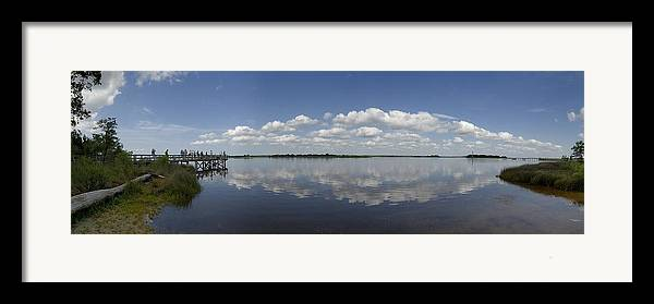 Cape Fear River Framed Print featuring the photograph Cape Fear River by Ed Zirkle