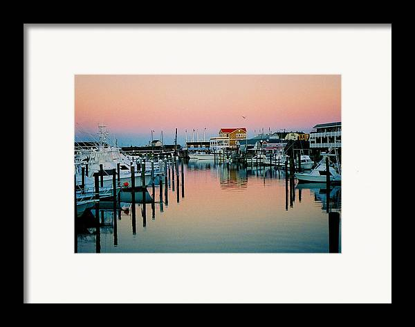 Cape May Framed Print featuring the photograph Cape May After Glow by Steve Karol