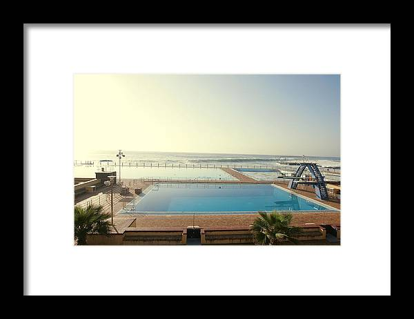 Pool Framed Print featuring the photograph Cape Town Pool by Michael Filonow