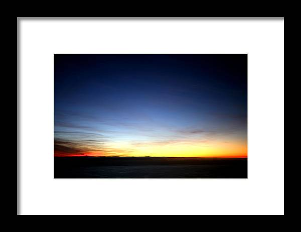 Sunset Framed Print featuring the photograph Capetown sunset by Marcus Best
