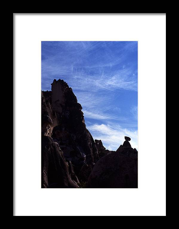 Cappadoccia Framed Print featuring the photograph Cappadoccia by Marcus Best