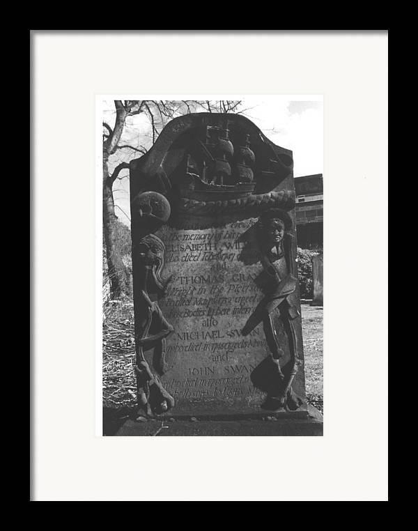 Scotland Framed Print featuring the photograph Capt. John Gray by Steven Godfrey