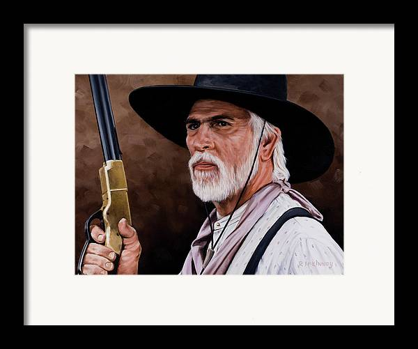 Captain Woodrow F Call Framed Print By Rick Mckinney