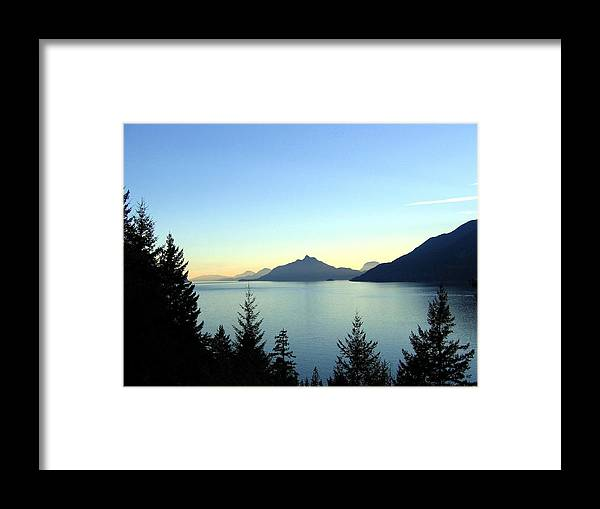 Howe Sound Framed Print featuring the photograph Captivating Howe Sound by Will Borden