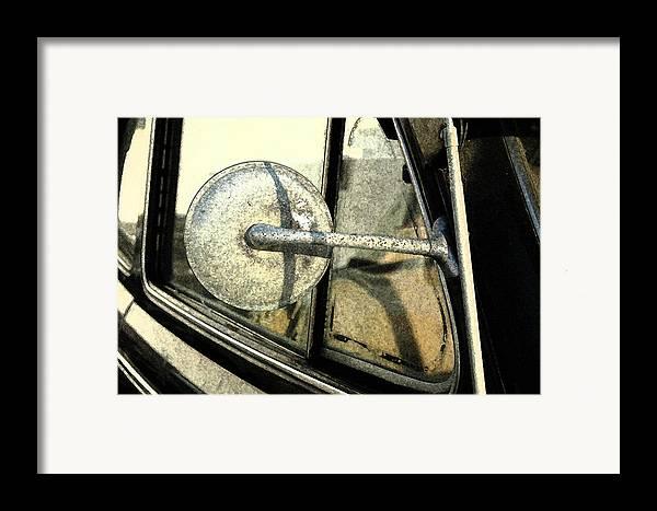 Car Framed Print featuring the photograph Car Alfresco I by Kathy Schumann