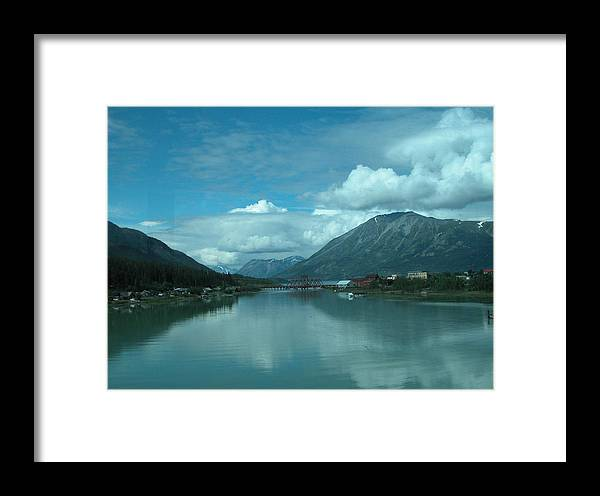Travel Framed Print featuring the photograph Carcross - So Much Blue by William Thomas