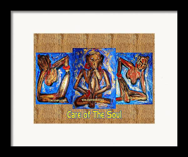 Soul Framed Print featuring the painting Care Of The Soul by Donna Proctor