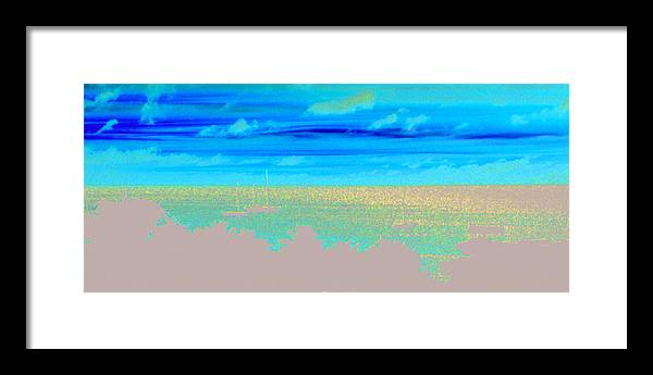 Sunset Framed Print featuring the photograph Caribbean Sunset by Tracy Hayden
