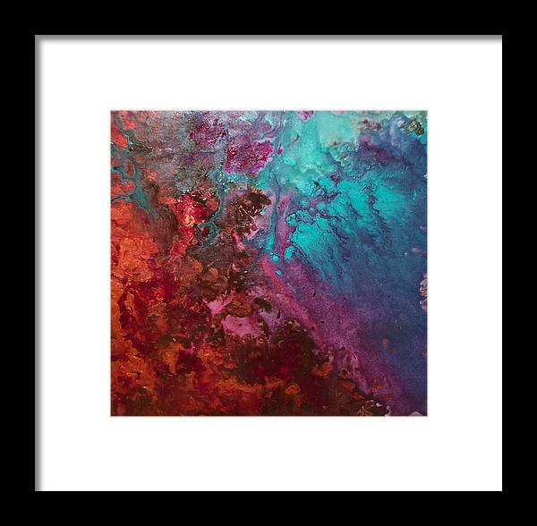 Aquatic Framed Print featuring the painting Carmen by Jess Thorsen