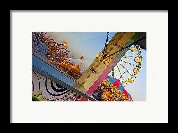 Carnival Framed Print featuring the photograph Carnival 1 by Skip Hunt