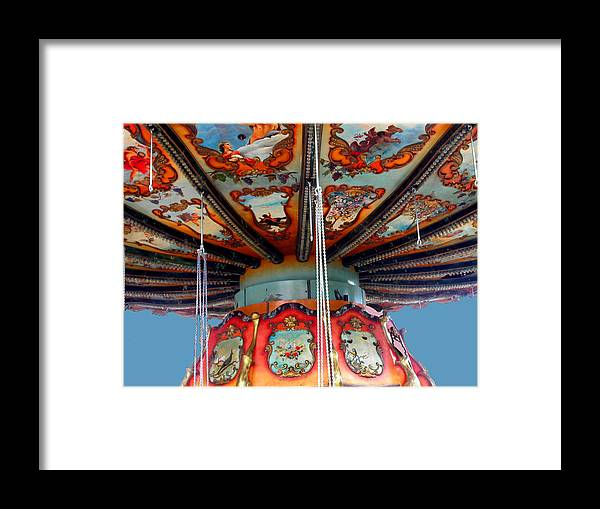 Carnival Framed Print featuring the photograph Carnival Mushroom by Anne Cameron Cutri