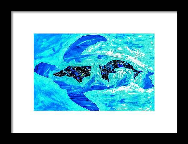 Carolina Coast Framed Print featuring the painting Carolina Coast by Barry Knauff