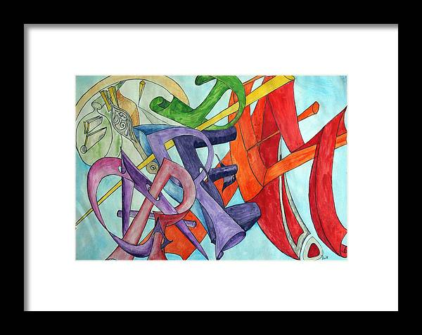 Carpe Diem Framed Print featuring the painting Carpe Diem by Helmut Rottler